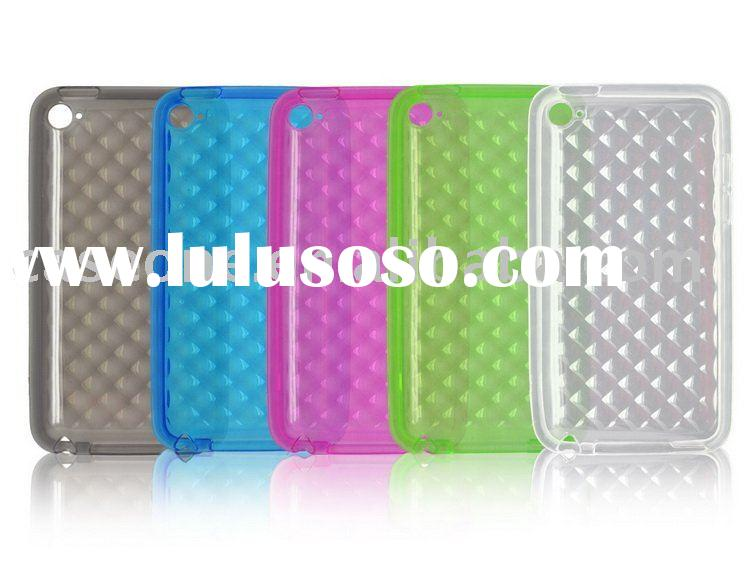 tpu case for ipod touch 4(new)
