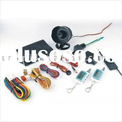 two way car alarm system with remote starter