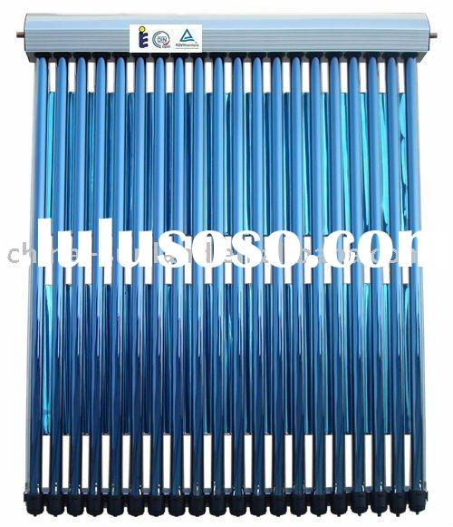 vacuum tube solar collector for home(20 heat pipes & evacuated tubes)