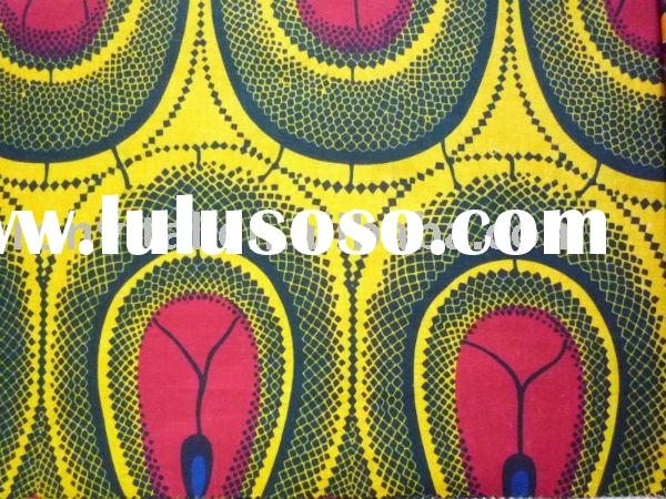 veritable African real wax fabric/African real wax printed /african cotton printed VLISCO wax cloth!