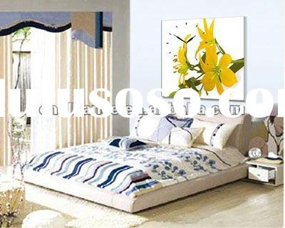 wall clock living room wall art picture