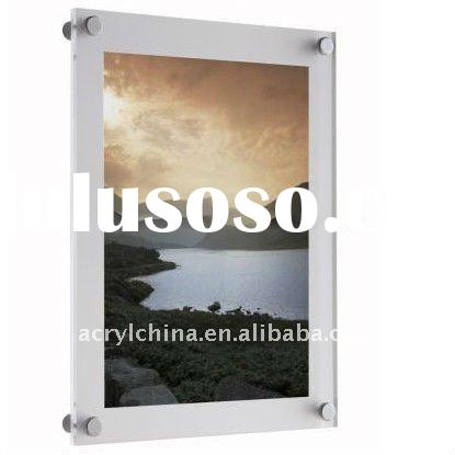 wall mounted photo frame / modern fixing frames / acrylic poster frames / poster kit