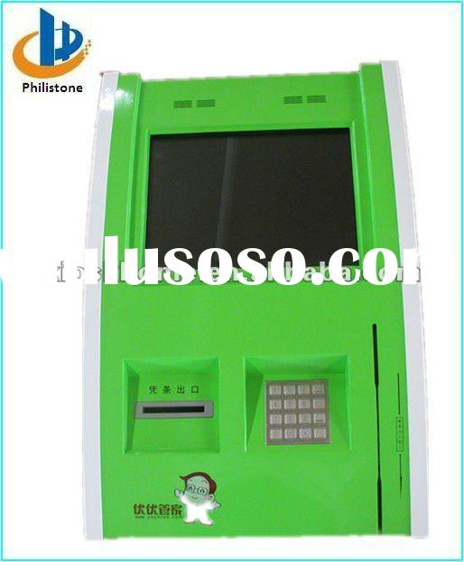 wall mounted self service touch screen kiosk design
