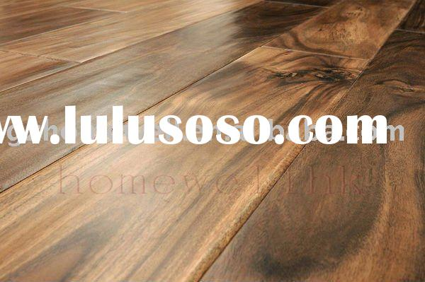 walnut-acacia handscraped wood flooring