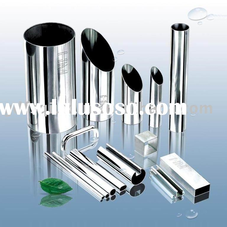 welded stainless steel tubing for decoration