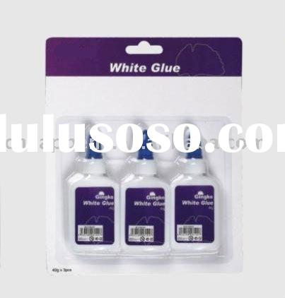 white liquid glue
