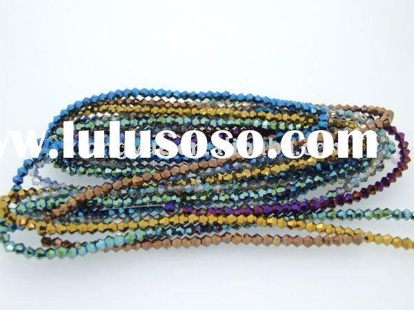 wholesale bicone crystal beads for jewelry making