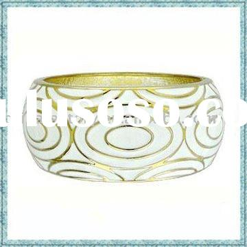 wholesale fashion heavy wide zinc alloy bangles jewelry