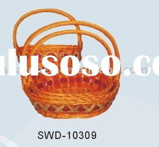 wicker gift baskets boxes