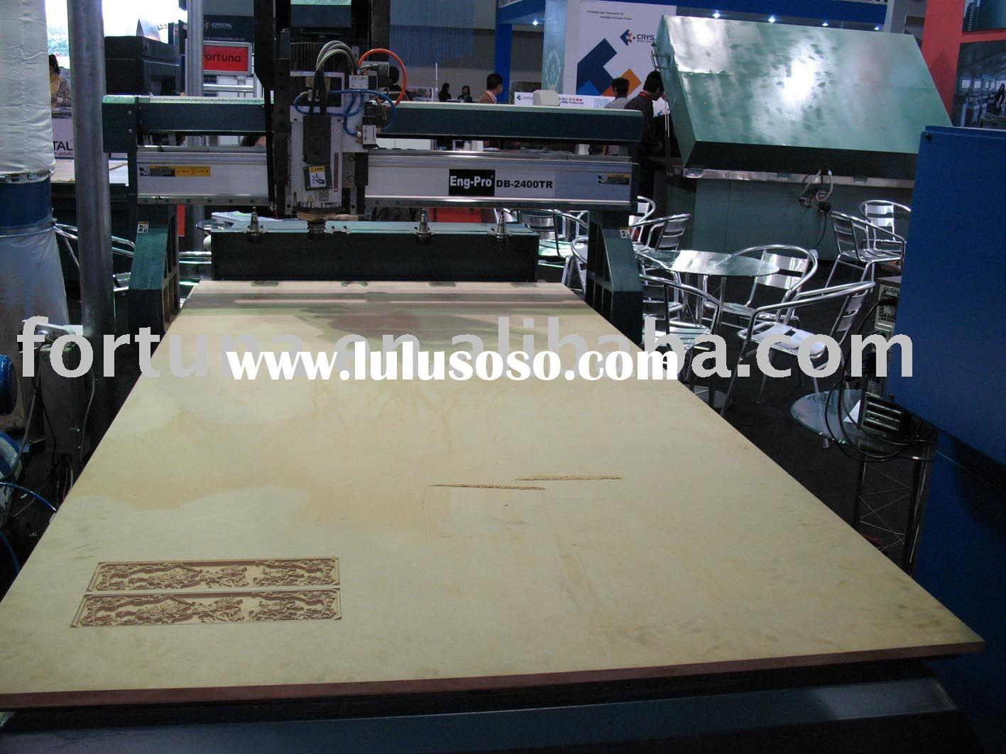 wood cnc router with vacuum table