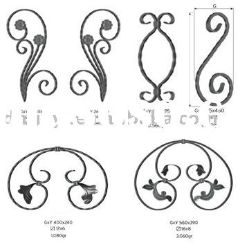 wrought iron, iron craft, decorative iron