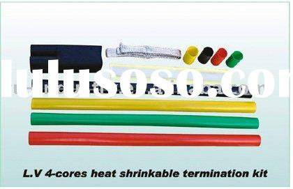 0.6/1KV 4-core Heat Shrinkable Termination Kit