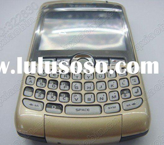 100% Brand new Blackberry curve 8300 8310 8320 Housing faceplate Cover(Gold)
