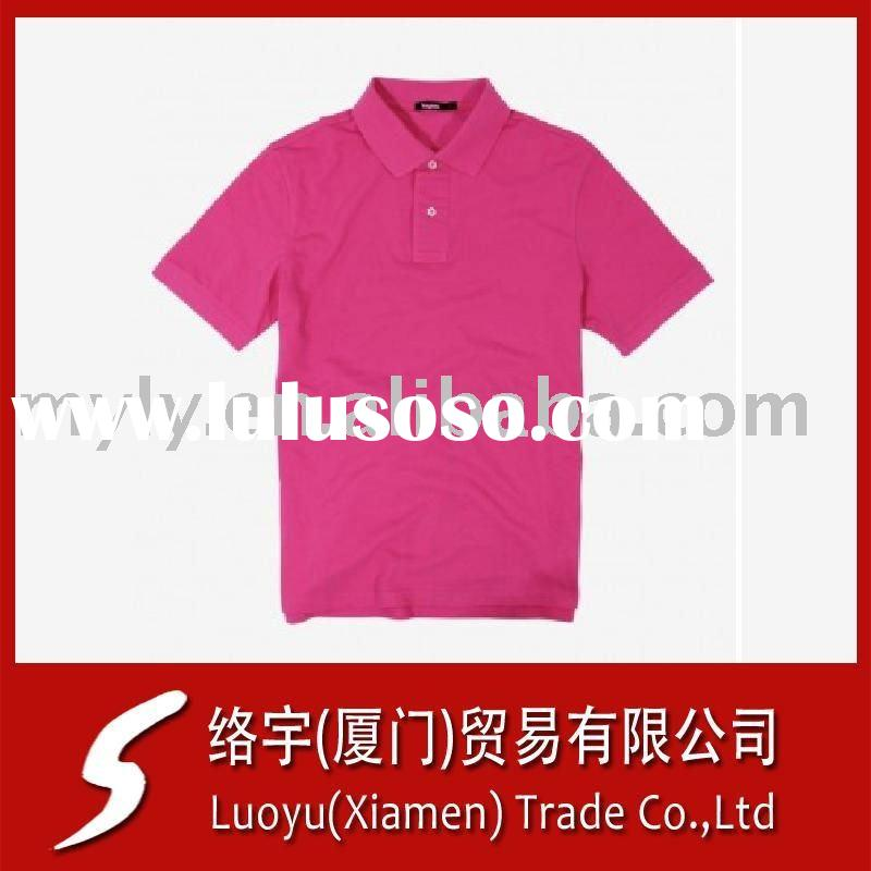 100% cotton cheap polo shirts embroidery or print logo