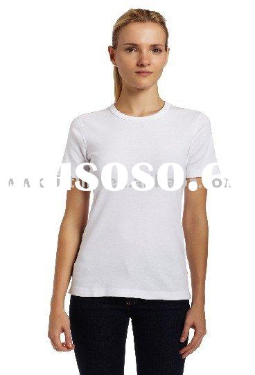 100% cotton plain white T shirt