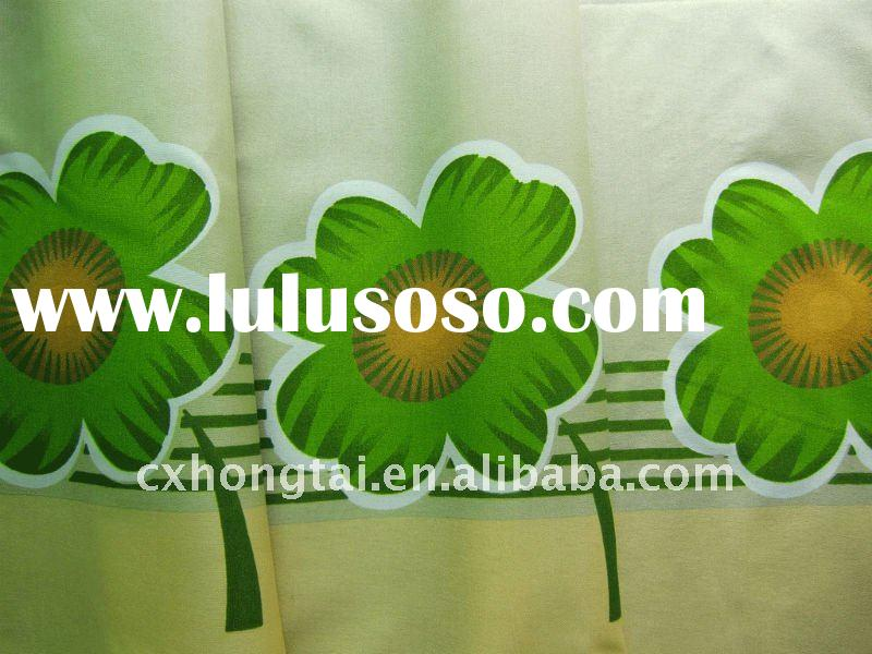 100% polyester fabric printed with flower for bed sheet
