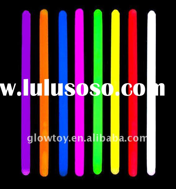 10pcs/tube packing, 12 inch/ 14 inch Colorful Glow Cheering Stick