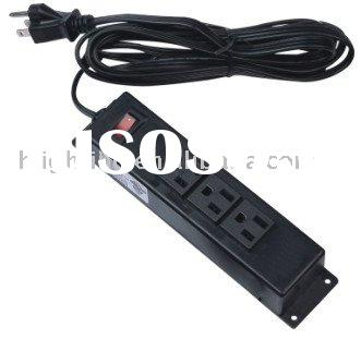 120v desk power strip with on/off switch