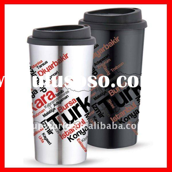 14oz BPA free double wall stainless steel tumbler cup