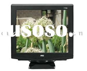 15 Inch Normal CRT Monitor/15 inch crt monitor/computer monitors,used black crt monitors,flat crt mo