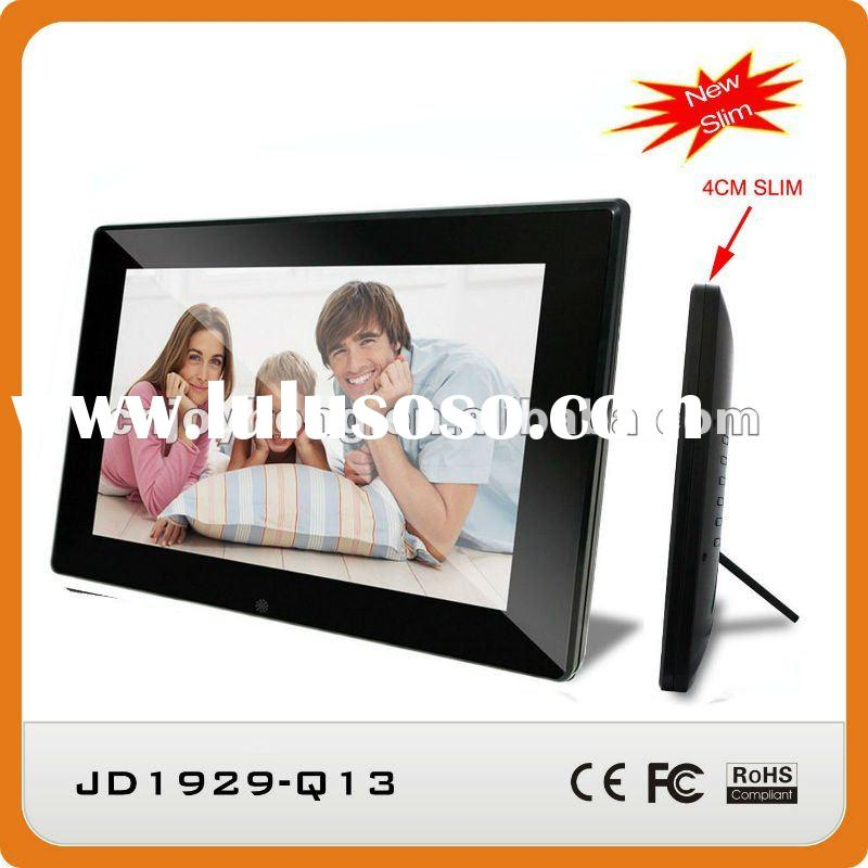 19 inch 2012 new Slim Design digital photo frame with full HD Movie and HDMI Out