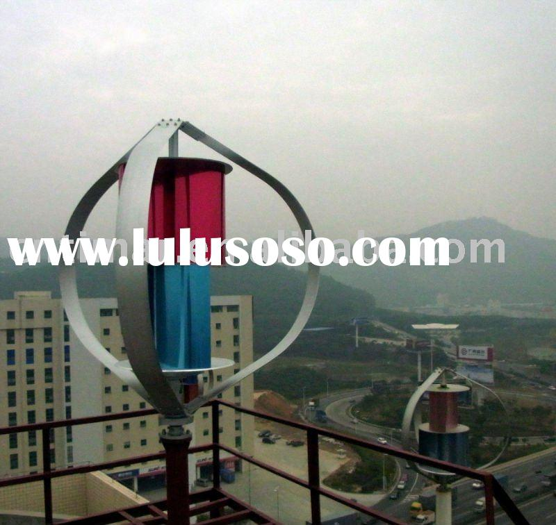 1KW Maglev Vertical Axis Wind Generator Turbine TIMAR design Patent and CE