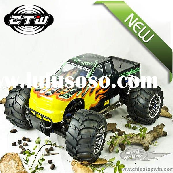 1:5 Scale 26cc Gas Remote Controlled Good Cars Hobby Powered Off-Road Monster RC Truck