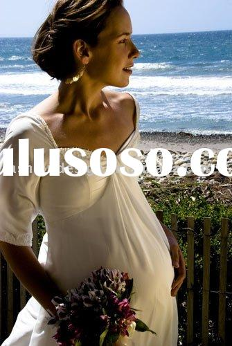 2010 hot sell Maternity wedding dresses Pregnant wedding and evening gowns,prom dresses, mp056