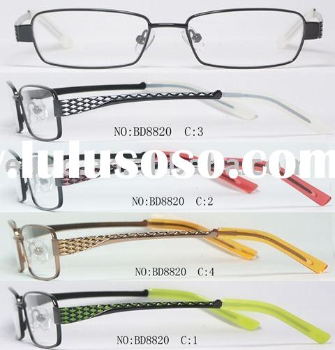 2010 new arrival hot style and high quality kids metal optical frame