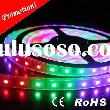 2011 83 colors rgb led strip with remote control
