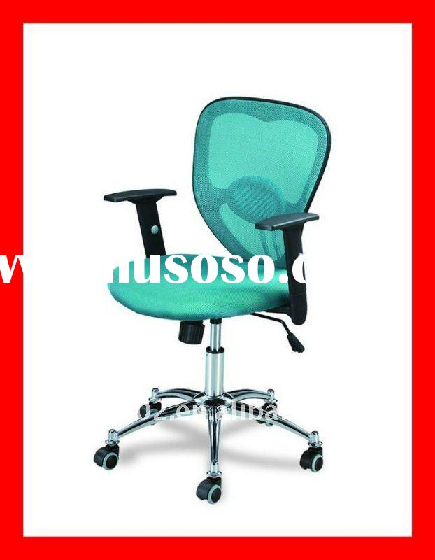2011 Adjustable gas lift mesh swivel receptionist chair for reception desk