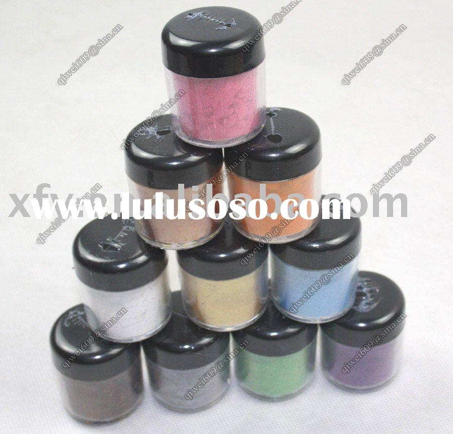 2011 Fashion body glitter powder 10 color to choose