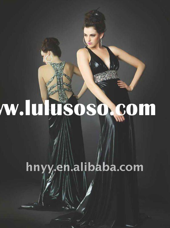 2011 Halter prom dresses Mac Duggal prom dress Formal Bridesmaid Evening Dress Gowns