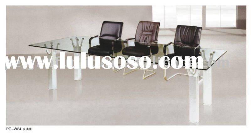 2011#Modern high quality glass office furniture(PG-W24)