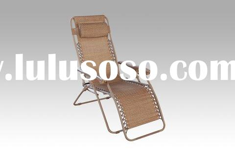 2011 NEW DESIGN garden outdoor furniture teslin folding Beach aluminum steel rocking double chair lo