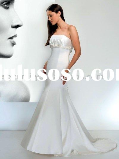 2011 New Style Figure-hugging Mermaid Wedding Dresses