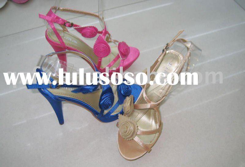 2011 New designer ladies sandals , High heel sandals