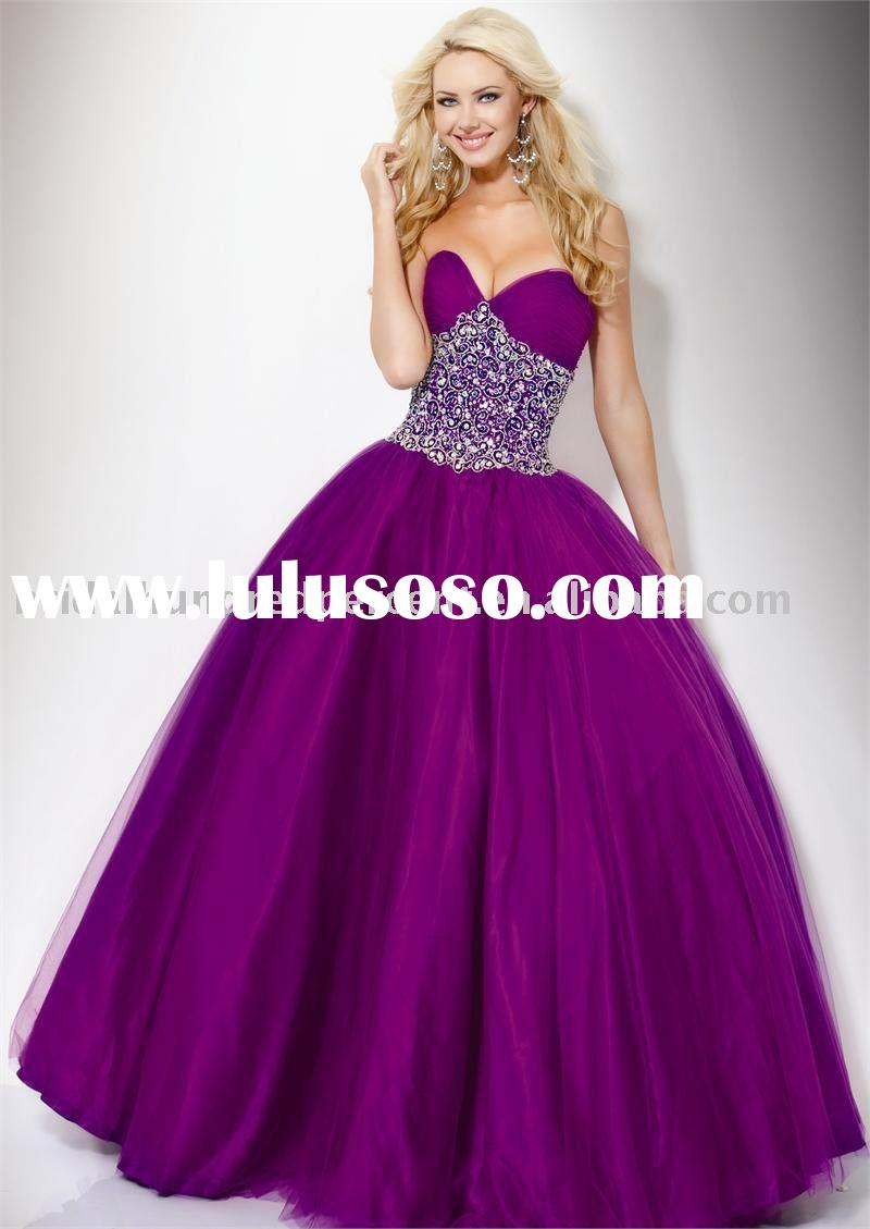 2011 Newest Luxury Ball Gown Long Prom Dress