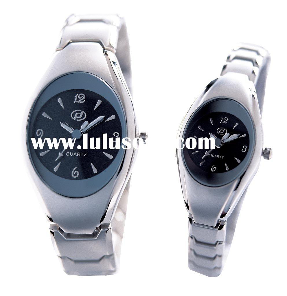 2011 Promotion Gift Watch set, Water-proof Watch for Lover's, Stainless Steel Watch set