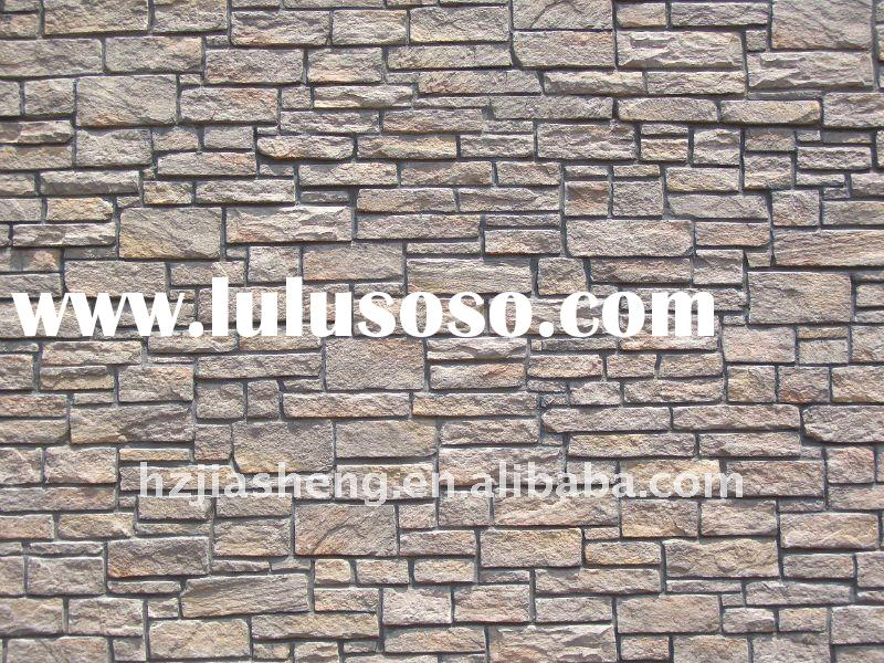 2011 Top quality and environment artificial stone decorative wall panel/covering