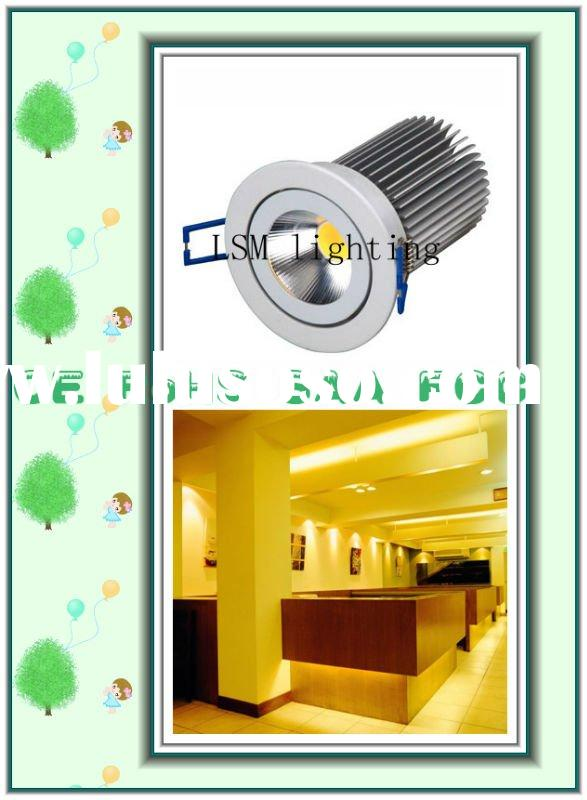 2011 dimmable led recessed downlight 13w with ce rosh saa