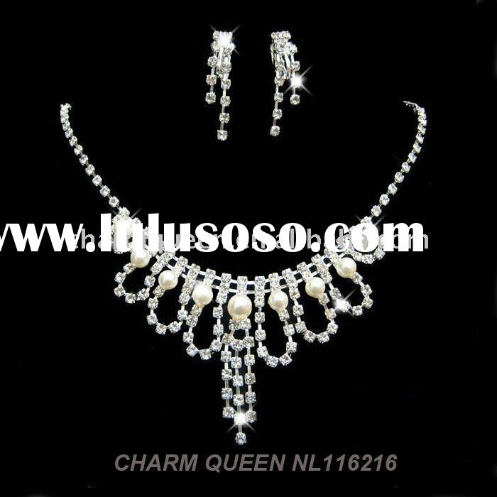 2011 fashion necklace bridal jewelry set