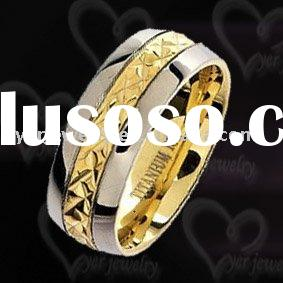 2011 hot design mens 316l stainless steel rings jewelry