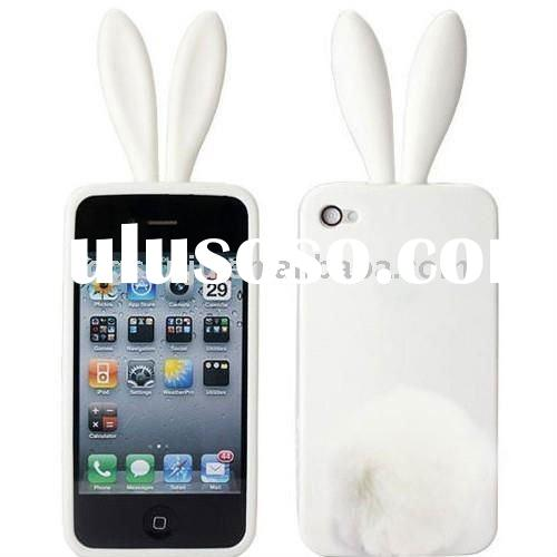 2011 new design silicone mobile phone case for 4G