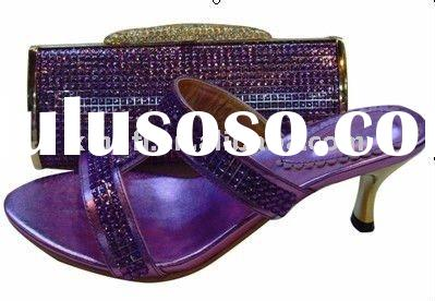 2011 new fashion ladies bags and matching shoes