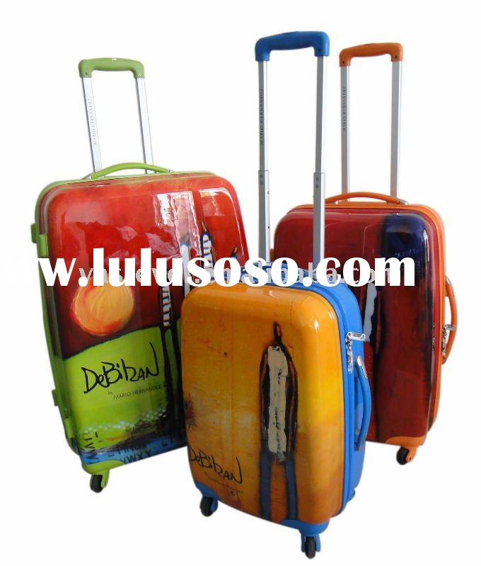 2012 ABS+PC trolley luggage & Cute lightweight abs luggage & Hard luggage case