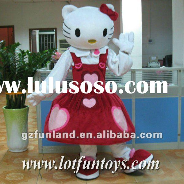 2012 Hello Kitty Cartoon Mascot Costume.