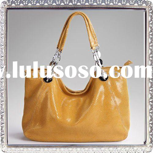 2012 Original Designer Genuine Leather fashion bags ladies handbags