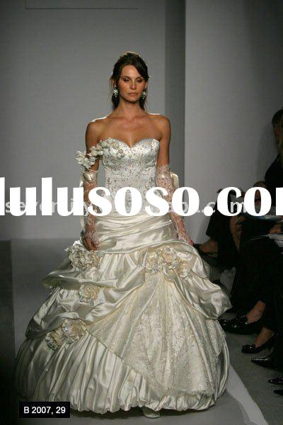 2012 fashion new style long sleeve lace wedding dresses