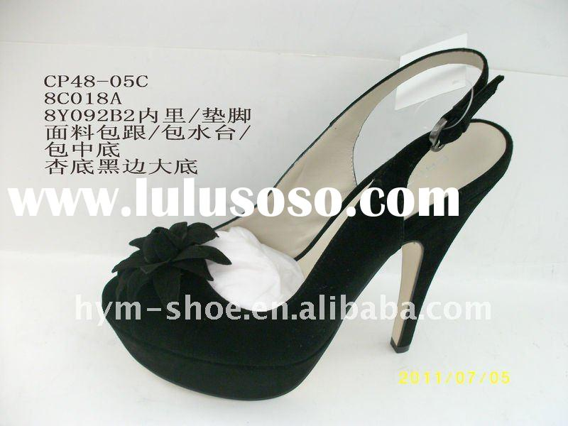 2012 hot sale fashion ladies high heel shoes